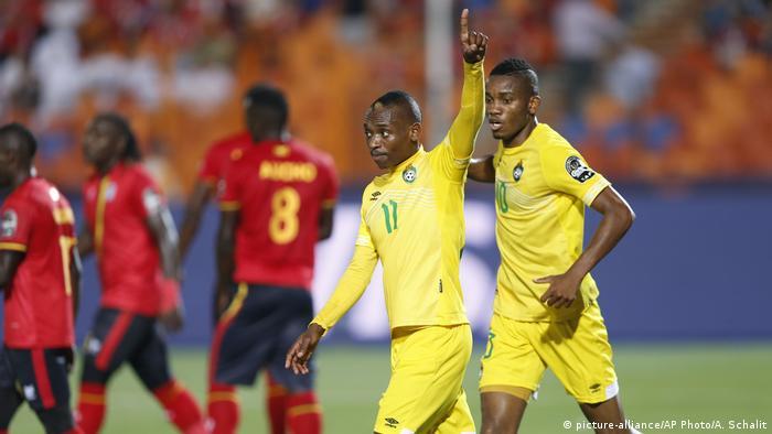 Africa Cup of Nations 2019 - Uganda vs Simbabwe