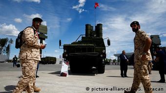 S-400 Luftabwehrsystem (picture-alliance/AA/S. Karacan)