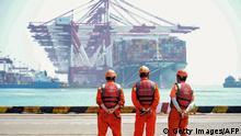 Symbolbild USA China Handel