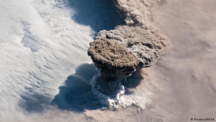 BdTD Vulkan Kuril Island (Reuters/NASA)