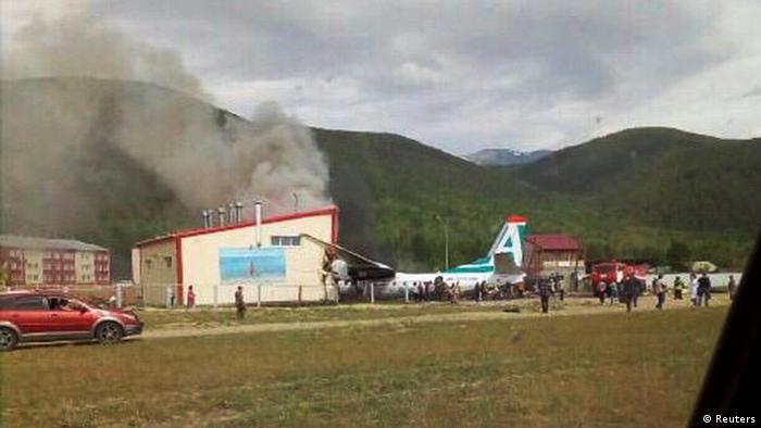 В аеропорту Нижньоангарська аварійно сів літак, загинули двоє членів екіпажу