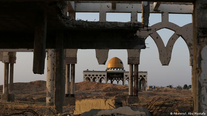 Zerstörter Flughafen von Gaza-Stadt (Reuters/I. Abu Mustafa)