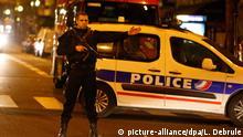 Terrorverdächtiger von Paris festgenommen