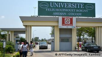 Felix Houphouet-Boigny-Universität in Abidjan, Elfenbeinküste (AFP/Getty Images/S. Kambou)