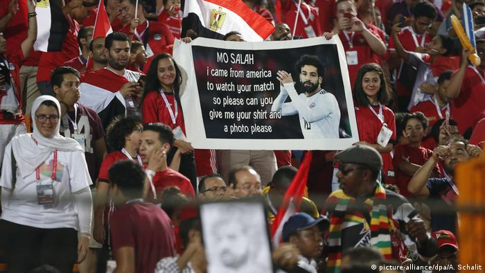 Afrika Cup Mohamed Salah (picture-alliance/dpa/A. Schalit)