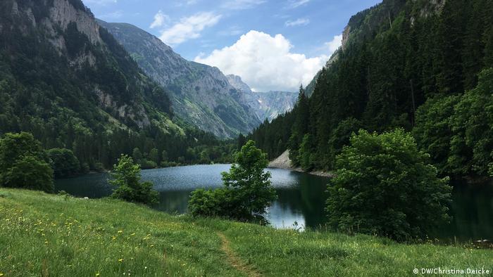 Lake Sušičko in the Durmitor Mountains