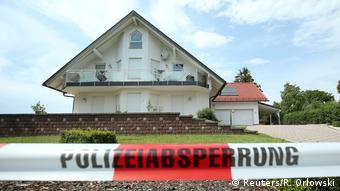 Crime scene of Walter Lübcke killing