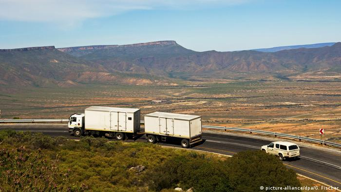 Afrika Handel Inland LKW