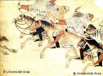 Mongóis eram hábeis cavaleiros