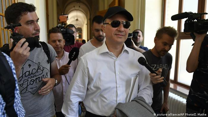 Ungarn Budapest Nikola Gruevski früherer Ministerpräsident Mazedonien (picture-alliance/AP Photo/Z. Mathe)