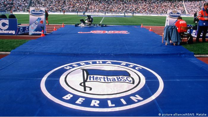 Olympiastadion Berlin - Herta BSC Teppich