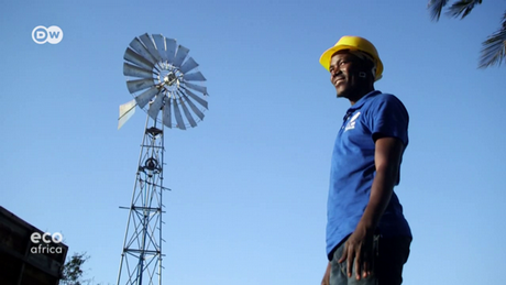 DW's Eco Africa - Wind power boosts energy supply in Tanzania