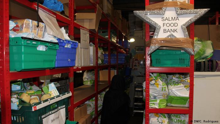 Поляки, які перебували в трудовому рабстві, переважнл були змушені харчуватися в центрах з надання їжі малозабезпеченим (на фото - один з таких центрів у Бірмінгемі)