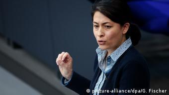 Bundestag - Filiz Polat - Bündnis 90/Die Grünen (picture-alliance/dpa/G. Fischer)