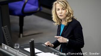 Hür Demokrat Parti Genel Sekreteri Linda Teuteberg