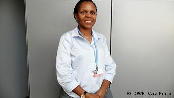 Paula Panguene, Umwelttechnikerin aus Mosambik