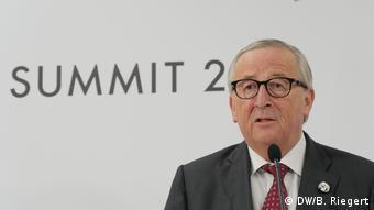 Жан-Клод Юнкер на саммите G20 в Осаке, 28 июня 2019 года