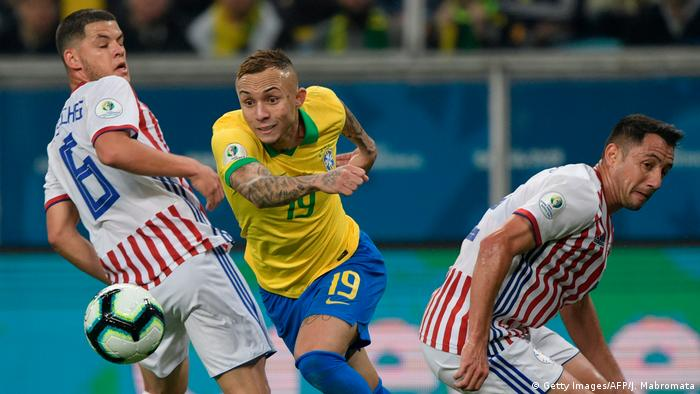 Fußball Copa America 2019 Brasilien - Paraguay (Getty Images/AFP/J. Mabromata)