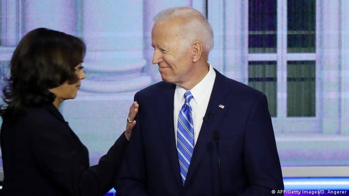 USA TV-Debatte der demokratischen Präsidentschaftsbewerber (AFP/Getty Images/D. Angerer)