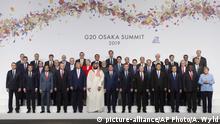 Japan G20 Gipfel Osaka Gruppenbild