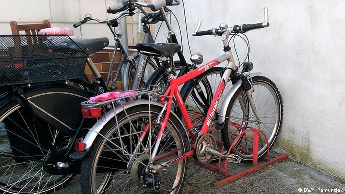 Bonn | Blogfotos zu Fahrradunfall und Krankenhausaufenthalt in Bonn (DW/Y. Pamuntjak)