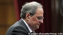 Spanien Regionalpräsident Katalonien Quim Torra