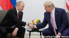 Japan Osaka | G20 Gipfeltreffen - Donald Trump und Vladimir Putin