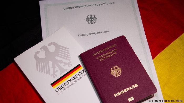 Documents for becoming a German citizen