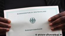 Einbürgerung in Deutschland