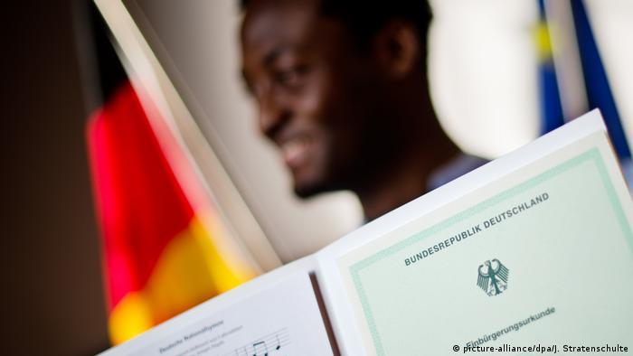Громадянство ФРН отримує той, у кого хоча б один з батьків має німецький паспорт