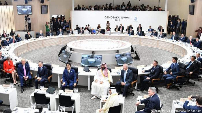 Japan Osaka | G20 Gipfel | Joko Widodo | Moon Jae-in (President Secretary/Laily Rachev)