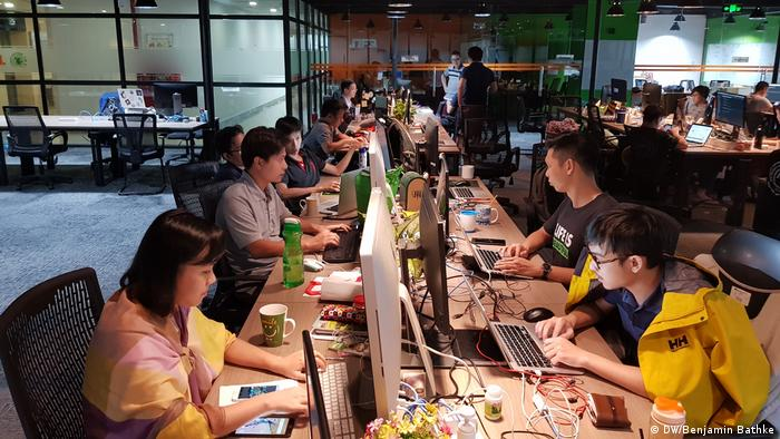 Vietnam Ho-Chi-Minh-City tech scene (DW/Benjamin Bathke)