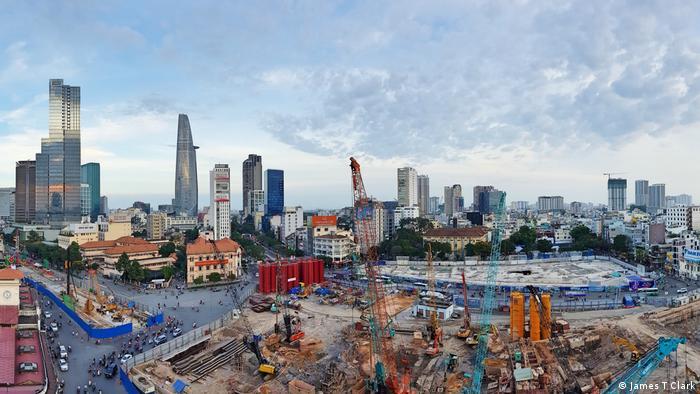 Vietnam HCMC panorama