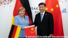 Japan Osaka | G20 Gipfel | Angela Merkel | Xi Jinping