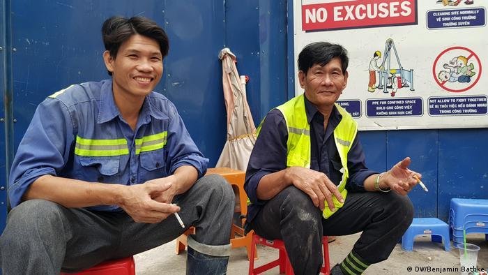 Vietnam Ho-Chi-Minh-City (DW/Benjamin Bathke)