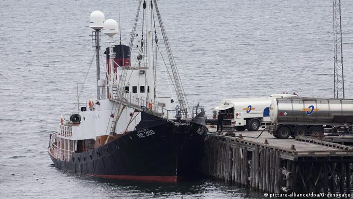 Island Finnwaljagd, Schiff des Unternehmens Hvalur