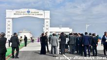 Turkmenistan Ashgabat   Eröffnung GTL Fabrik zur Gasverflüssigung