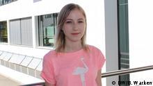 Bonn DW | Porträtfoto der Deutschlernerin - Sonia aus Russland