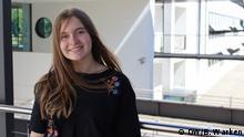 Bonn DW | Porträtfoto der Deutschlernerin - Milana aus Russland