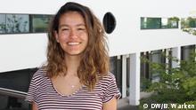 Bonn DW | Porträtfoto der Deutschlernerin - Sofia aus Costa Rica