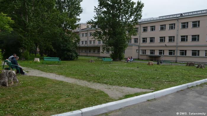 В сквере у Госпиталя для ветеранов войн