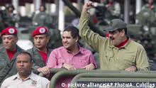Venezuela Nicolas Maduro mit Sohn Nicolas Maduro Guerra