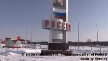 Russland Ukraine Grenzübergang Nekhoteevka