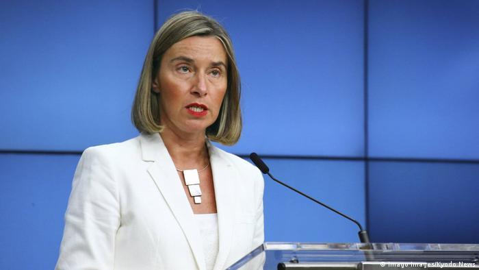 Верховна представниця ЄС з безпекової та зовнішньої політики Федеріка Могеріні