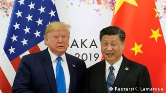 Japan Osaka   G20 Gipfel   Donald Trump und Xi Jinping
