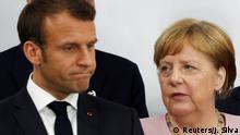 Japan Osaka | G20 Gipfel | Emmanuel und Angela Merkel
