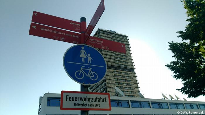 Deutschland Verkehrszeichen für Radfahrer (DW/Y. Pamuncak)