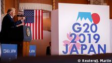 Japan Osaka G20 Gipfel PK Trump