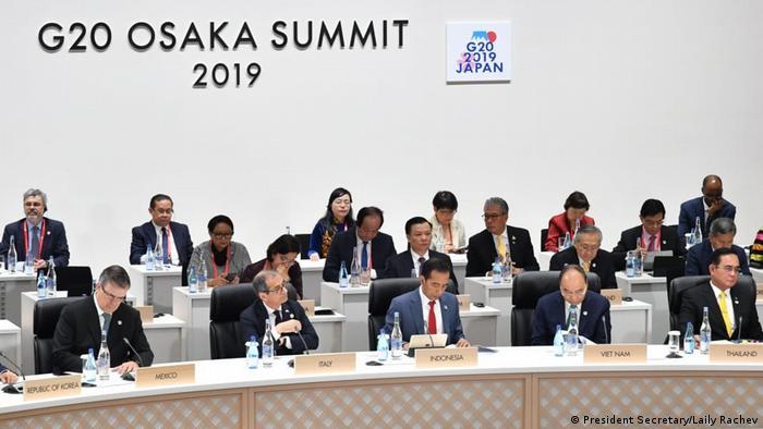 Japan Osaka G20 Gipfel Joko Widodo Präsident Indonesien