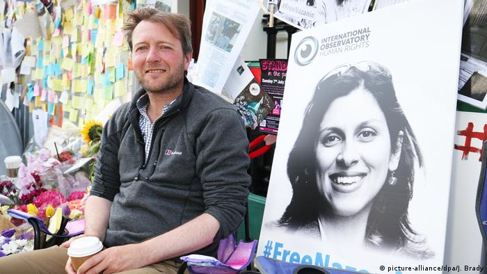 UK | Nazanin Zaghari-Ratcliffe und Richard Ratcliff beenden Hungerstreik (picture-alliance/dpa/J. Brady)